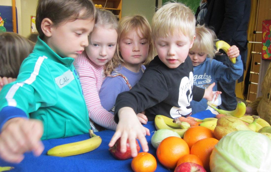 konzentrierte Kinder